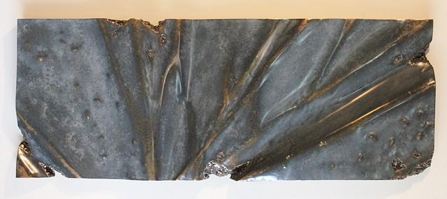 Bronze wall piece