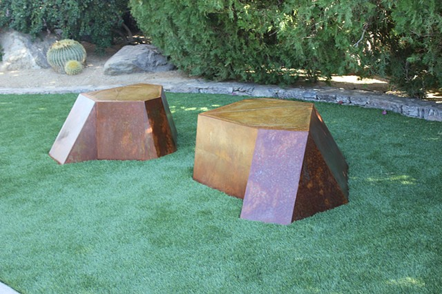 """Palm Springs Benches"""