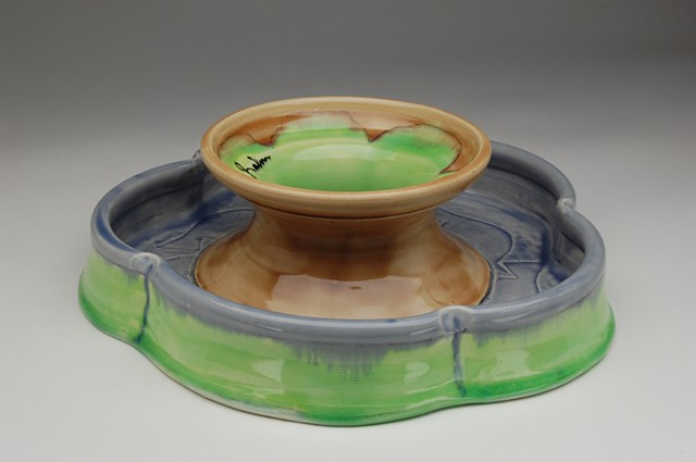 cake stand reversible