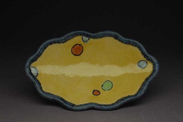 Yellow cloud plate