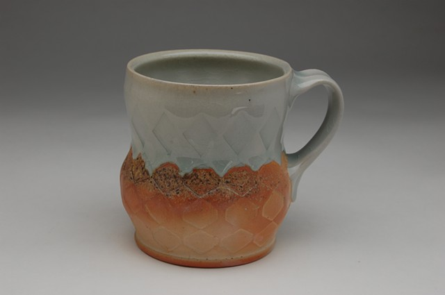 wood-fired morning mug cup stoneware