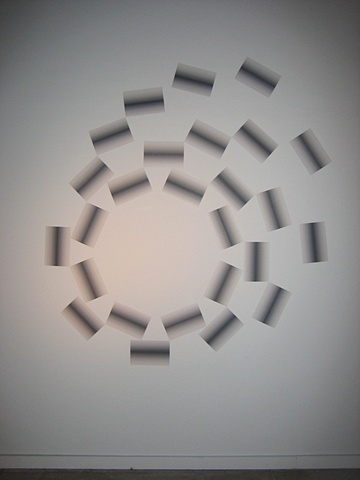 printer paper wall installation