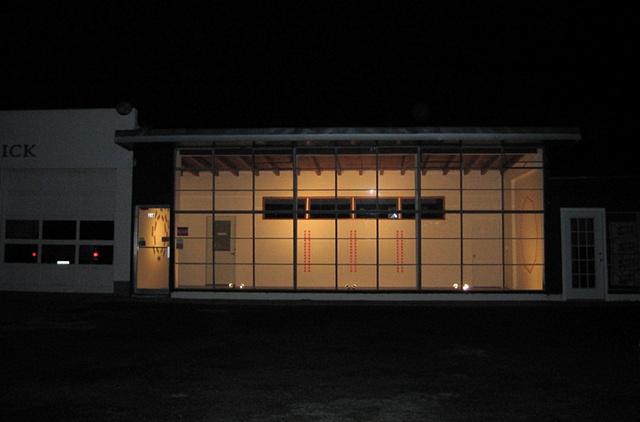 """""""3 Wall Drawings"""", The Showroom, Marfa, TX"""