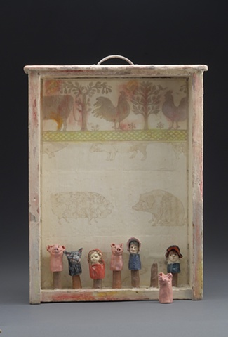 finger puppets, Little Red Riding Hood, The Three Pigs