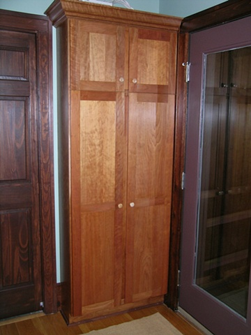 Cherry storage cabinet