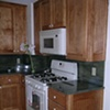 Solid bich beadboard cabinetry