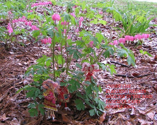 Fairies and Bleeding Hearts