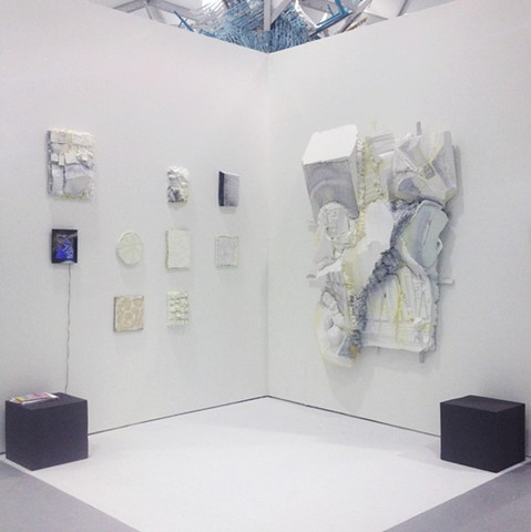 Booth installation at Aspect Ratio, Untitled Miami 2015