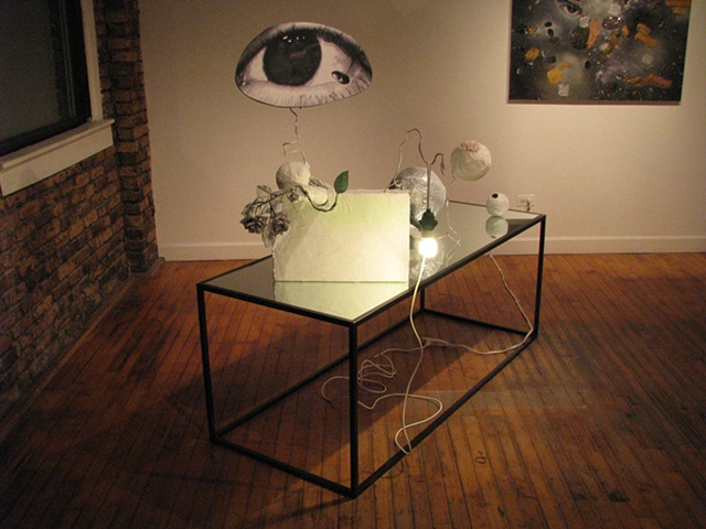 "installed at Western Exhibitions, Chicago, IL for the show ""On Painting"" organized by Michelle Grabner"