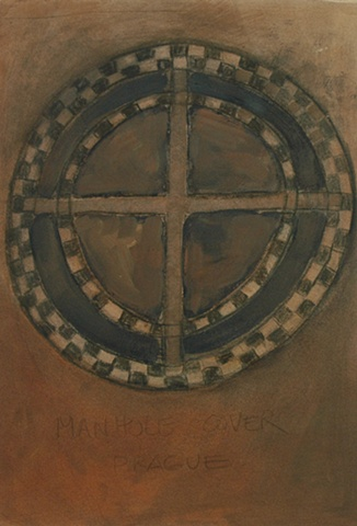 Manhole Cover Prague 3