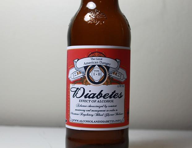 Diabetes Beer Label: BFA Thesis