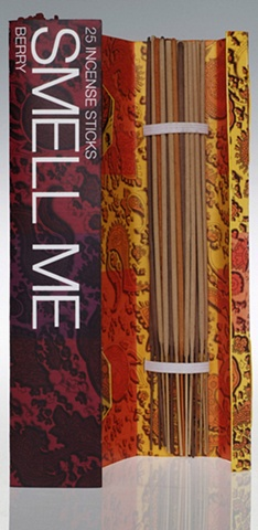 inside of incense package