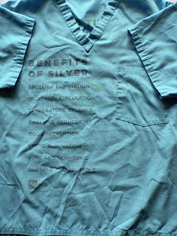screen print on scrubs