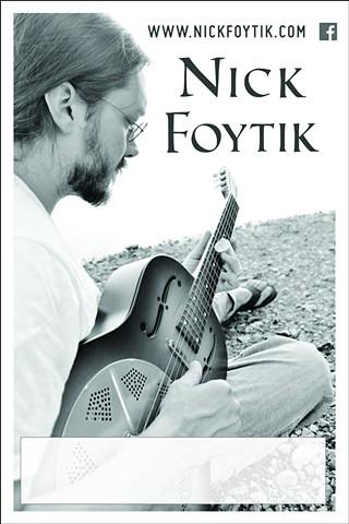 Nick Foytik Solo Poster