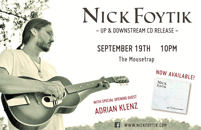Up and Downstream CD release poster