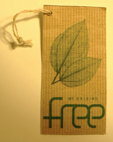 branding tag for organic makeup company 'Free'