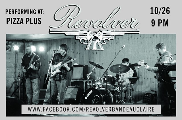 Revolver blues band poster