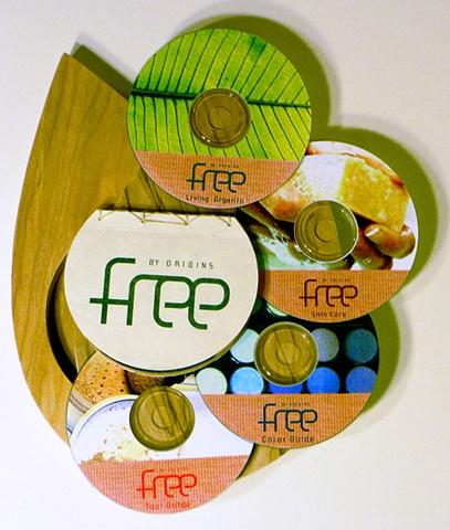 DVD set for 'Free', an organic makeup brand