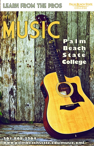 PBSC Music Department Poster Series