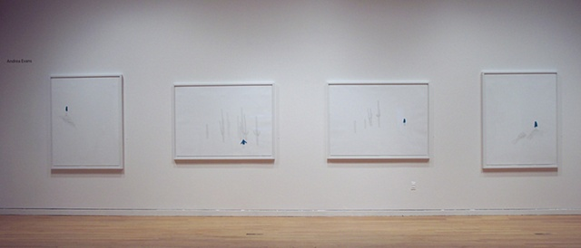 There Is No Place installation (from left to right) View #3, #4, #2, #1
