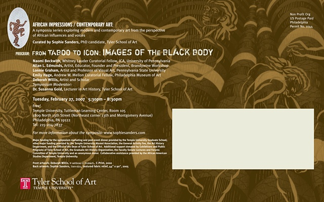 From Taboo to Icon: Images of the Black Body
