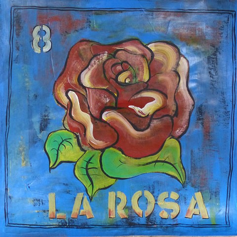 Loteria paintings, art, folkart