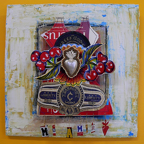mixed media assemblages