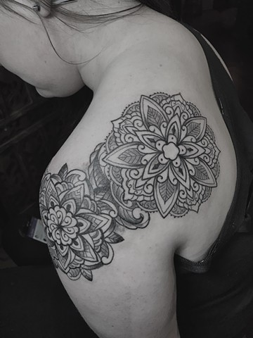 Mandalas on Arm