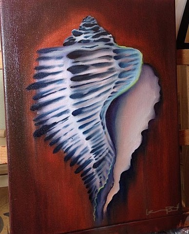 Oil Painted Shell