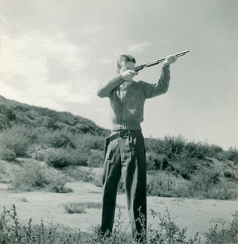 Untitled (sharpshooter with a Winchester)