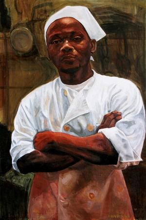Portrait of chef Samuel Beckett