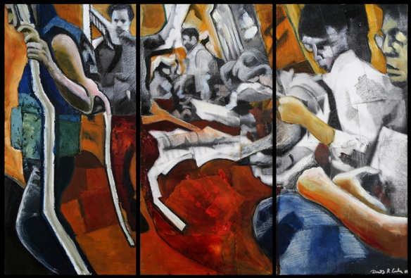 Phantom Riders (triptych)