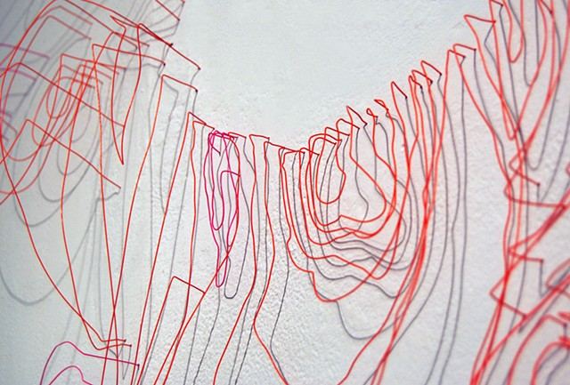 Wire Wall Drawings