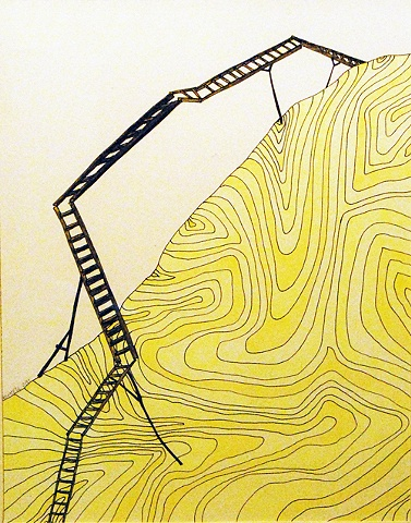 Yellow Ladder, Vertical Inclination