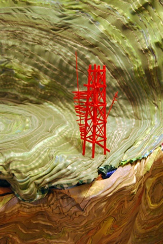 detail: Signaling Point (Red Tower)