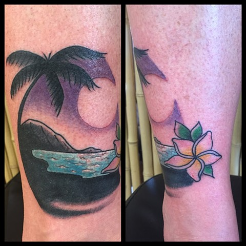Beach Cover-up Tattoo - Lahaina, Maui