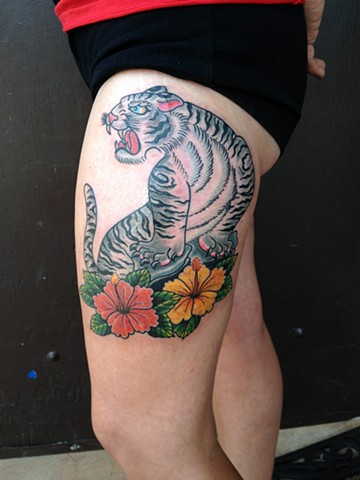 White Tiger Tattoo - Lahaina, Maui