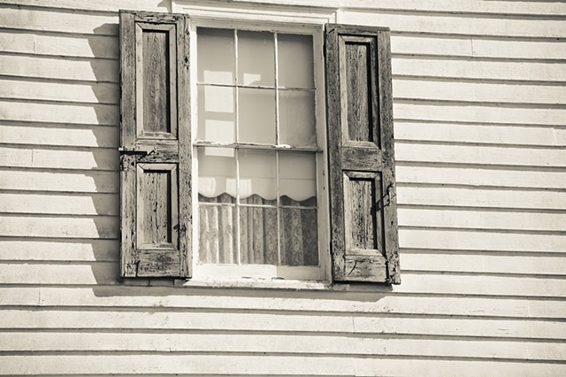 Shutter and Window on St Joseph Plantation
