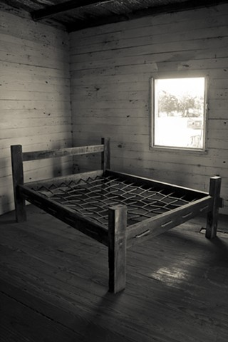 Bed in Slave Quarters