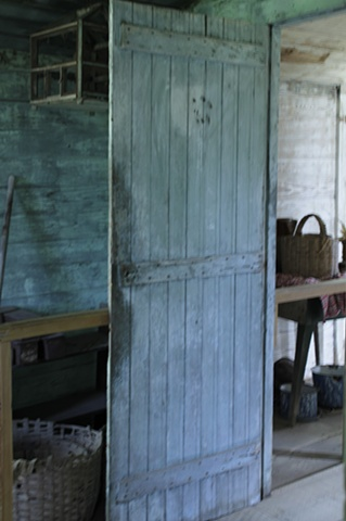 Inside Slave Quarters at Laura Plantation