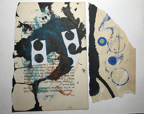 mixed media, collage, contemporary art,painting