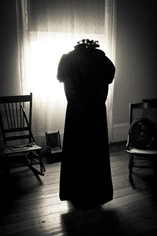 Creole Mourning Gown