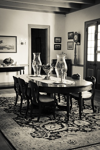 Dining Room at Laura Plantation