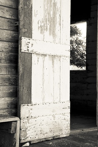 Detail of Door in Slave Cabin