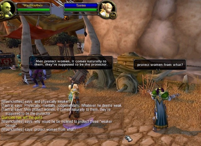 The Council on Gender Sensitivity and Behavioral Awareness in WoW