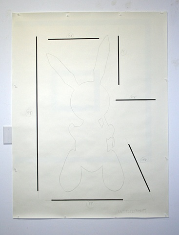 study for Untitled (Rabbit)
