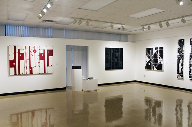 """Forged Paint"" - Gallery 193 Angelo State University, San Angelo, Texas"