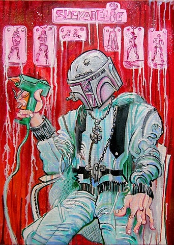 portrait of Sucklord at Suckadelic
