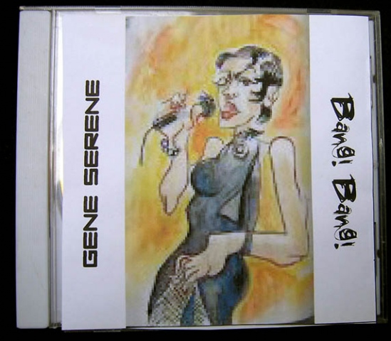 CD artwork for Gene Serene