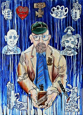 Charles Krafft, portrait by Jason Atomic,